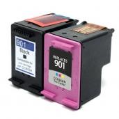 [HP 901XL BK + 901XL Color Combo set kompatibil]