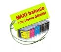 [Brother LC-1000 / 970 8ks Maxi sada + 2 GRATIS]