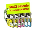 [Brother LC-985 XL 8ks Maxi sada + 2 GRATIS]