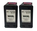 [HP 300XL BK + 300XL BK Combo set kompatibil]