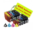 [HP 364XL 8ks Maxi sada + 2 GRATIS]
