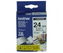 [Páska Brother 24mm TZE251, čierna na bielu ]