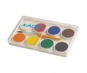 [Adeland Vodové farby 8 farebné, 24 mm]