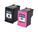 [HP 652XL BK + 652XL Color Combo set kompatibil]