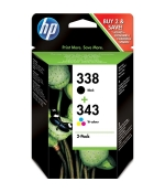 [Multipack HP 338 + HP 343, SD449EE]