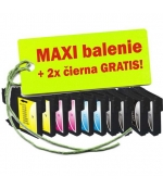 [Brother LC-1100 / 980 XL 8ks Maxi sada + 2 GRATIS]