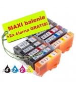 [Canon CLI-526 / PGI-525 8ks Maxi sada + 2 GRATIS]