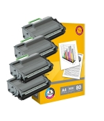 [Toner Brother TN-3512 kompatibil 4x + papier ]
