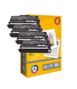 [Toner Brother TN-3480 kompatibil 4x + papier ]
