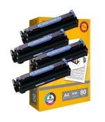 [Toner Canon CRG-706 kompatibil 4x + papier ]
