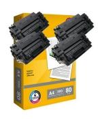 [Toner Canon CRG-710H kompatibil 4x + papier ]