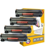 [Toner Canon CRG-725 kompatibil 4x + papier ]