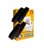 [Toner Canon CRG-731B kompatibil 4x + papier ]
