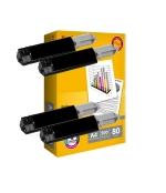 [Toner Epson C1100BK kompatibil 4x + papier]
