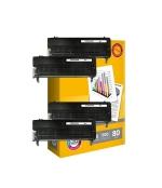 [Toner Epson C2800BK kompatibil 4x + papier ]