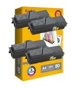 [Toner Kyocera TK-1140 kompatibil 4x + papier ]