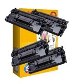 [Toner HP CF287X kompatibil 4x + papier ]