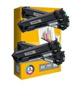 [Toner HP CF400A black kompatibil 4x + papier ]