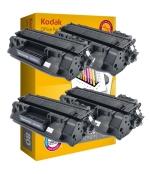 [Toner HP CE505A kompatibil 4x + papier ]