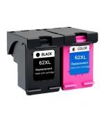[HP 62XL BK + 62XL Color Combo set kompatibil]