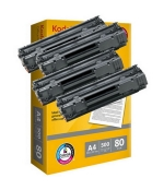 [Toner HP CF230A kompatibil 4x + papier]
