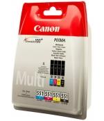 [Multipack Canon CLI-551 C/M/Y/BK]