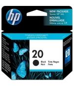 [Atramentová náplň HP 20, black C6614DE]