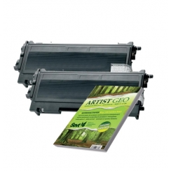 Toner Brother TN-2000 kompatibil 2x + papier