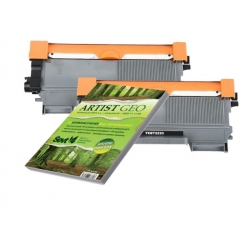 Toner Brother TN-2220 kompatibil 2x + papier