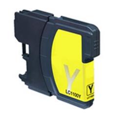 Brother LC-1100/980 XL yellow kompatibil