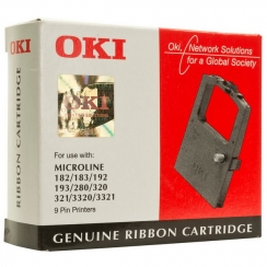 Farbiaca páska OKI ML182/ML320 čierna, 09002303