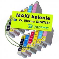 Epson T080 12ks Maxi sada + 2 GRATIS
