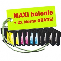 Brother LC-1100 / 980 XL 8ks Maxi sada + 2 GRATIS
