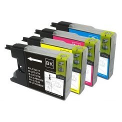 Brother LC-1280 XL / 1240 CMYK set kompatibil