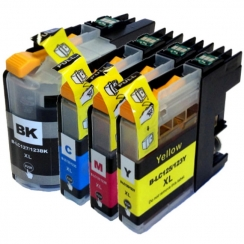 Brother LC-127/125XL CMYK set kompatibil