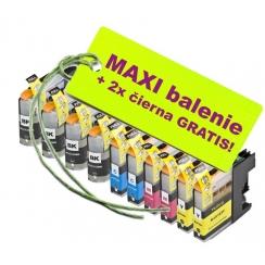 Brother LC-123XL 8ks Maxi sada + 2 GRATIS