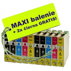 Epson T163 16XL 8ks Maxi sada + 2 GRATIS
