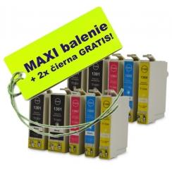 Epson T130 XL 8ks Maxi sada + 2 GRATIS