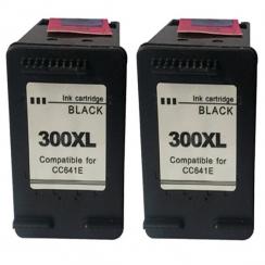 HP 300XL BK + 300XL BK Combo set kompatibil