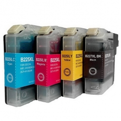 Brother LC-227/225XL CMYK set kompatibil