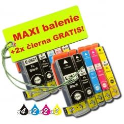 Epson T263 26XL 8ks Maxi sada + 2 GRATIS