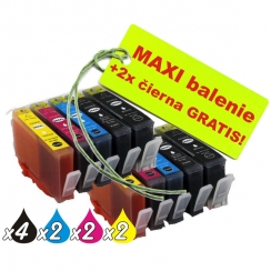 HP 364XL 8ks Maxi sada + 2 GRATIS