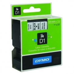 Páska Dymo 24mm 53713, D1 čierna na bielu