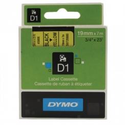 Páska Dymo 19mm 45808, D1 čierna na žltú