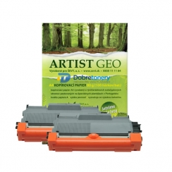 Toner Brother TN-3390 kompatibil 2x + papier