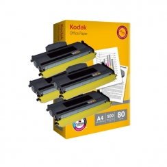 Toner Brother TN-2120 kompatibil 4x + papier