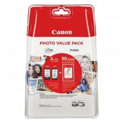 Multipack Canon PG-545 XL + CL-546 + papier 50x GP-501