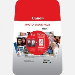 Multipack Canon PG-560 XL + CL-561 XL + papier 50x PP-201