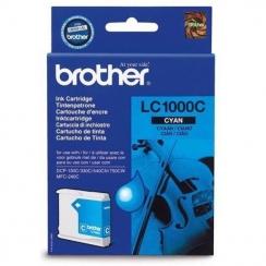 Atramentová kazeta Brother LC1000C, cyan