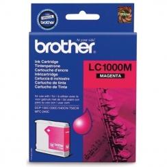 Atramentová kazeta Brother LC1000M, magenta